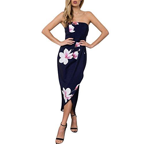 Yanhoo-Dress Damen V-Ausschnitt Lang Kleid Sommer-Strand-Wickelkleid Bademantel Handtuch Reise Spa Schwimmen Große Größe L-5XL