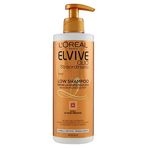 LOréal Paris Elvive Low shampoo olio per capelli secchi 400 ml
