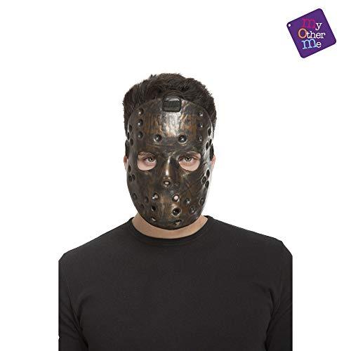 ng costumes204568schwarz Psycho Maske (One Size) ()