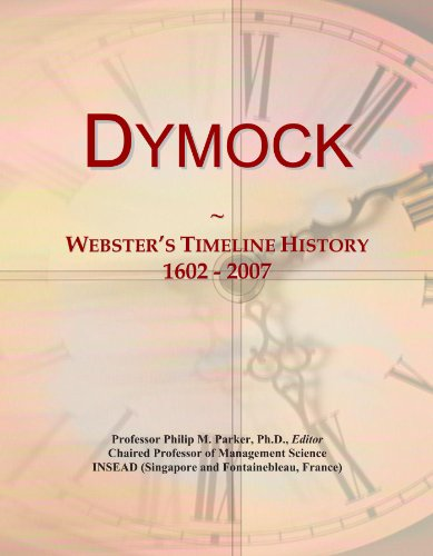 dymock-websters-timeline-history-1602-2007