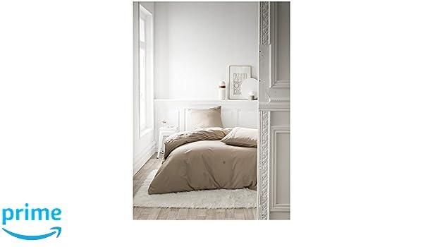 Blanc 240 x 260 cm TODAY 017228 Housse de Couette et Taies doreiller