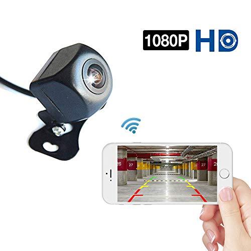 Podofo WiFi Cámara Marcha atrás 1080P Full HD Visión