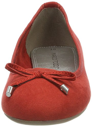 Marco Tozzi 22135, Ballerines Femmes Rouges (chili)