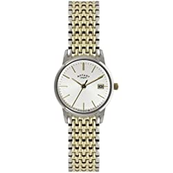 Rotary Ladies'Watch XS Analogue Quartz Stainless Steel Coated LB02751 / 03