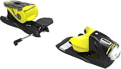 Look–Fijaciones de esquí NX 12Dual WTR B90Black/Yell–Unisex–Talla única–Negro