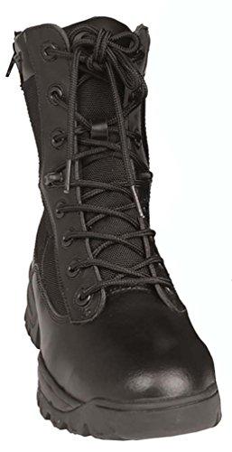 Chaussures Tactical Double Zip - Miltec Noir