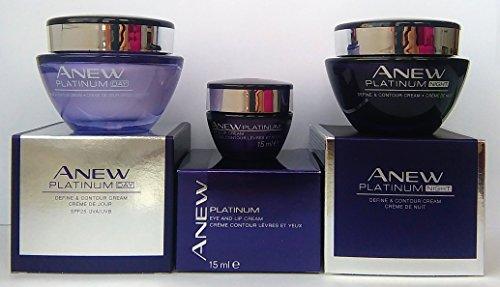 avon-anew-platinum-define-contour-crema-de-ojos-y-labios-crema-de-dia-crema-de-noche-set-