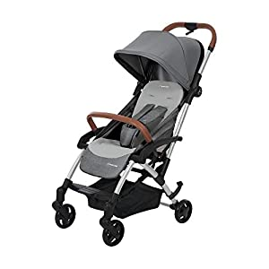 Maxi Cosi Laika 2 Baby Pushchair, Ultra Compact and Lightweight Stroller from Birth, Easy Fold, 0 Months-3.5 Years, 0-15 kg, Nomad Grey   8