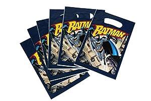 DYNASTRIB Batman - Bolsas para caramelos (6 unidades, 23 x 15 cm), multicolor