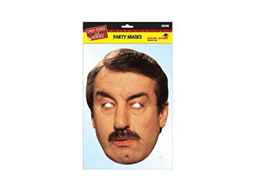 d Horses Character Face Card Mask, Impersonation/Fancy Dress ()