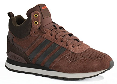 adidas 10Xt Wtr Mid, Chaussures de Sport Homme Marron - Marrón (Caoba / Marosc / Chiart)