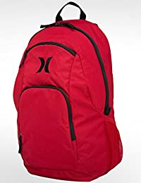 Hurley Wallet One und Only Pack - Mochila de Senderismo, Color Rojo, Talla Talla