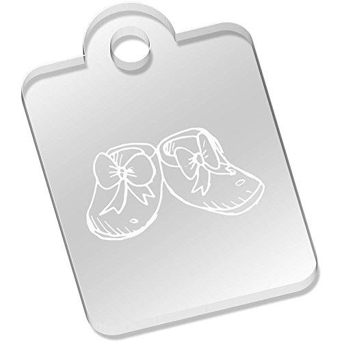 Azeeda 'Baby Schuhe' Schlüsselanhänger (AK00030622)