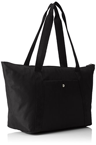 Bogner - MEDIUM SHOPPING, Borse a Tracolla Donna Nero (Nero (Black 001))
