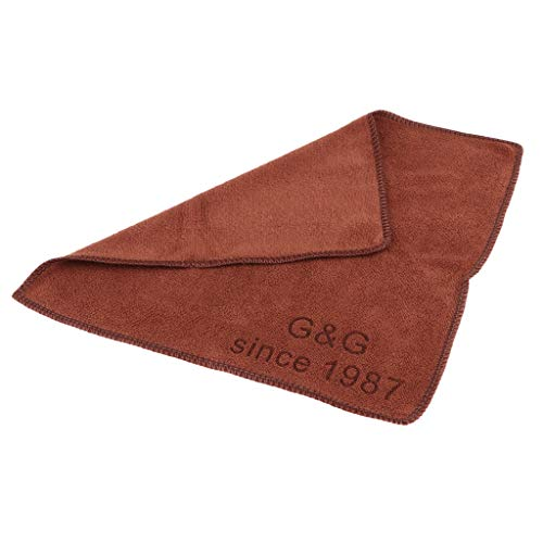 IPOTCH Accessori Professionali per La Cura del Panno Asciugamano per La Pulizia della Stecca