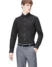 T-Shirts Men's Slim Fit Formal Shirt