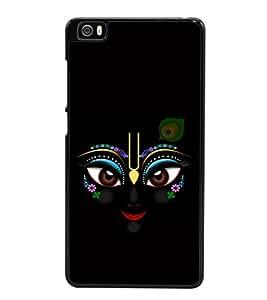 printtech Lord Krishna Beautiful Eyes Back Case Cover for Xiaomi Redmi Mi5::Xiaomi Mi 5