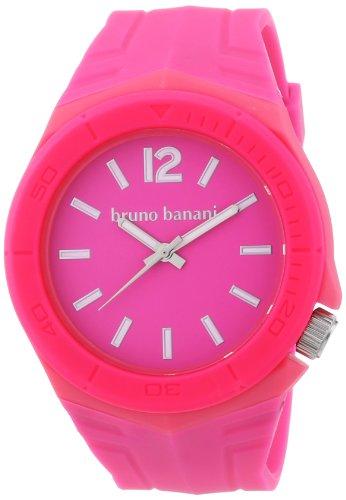 Bruno Banani Unisex-Armbanduhr Prisma Analog Plastik BR21056