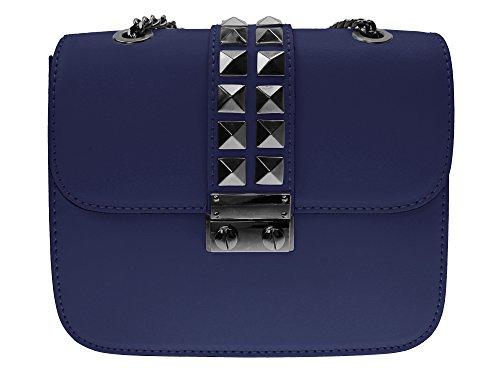 bag2basics-sac-bandoulire-pour-femme-marron-marron-taille-unique-bleu-bleu-taille-unique