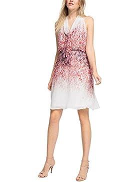ESPRIT Collection Damen Kleid 066eo1e016 - Blümchenverzierung
