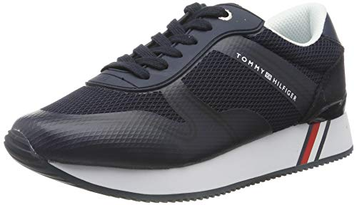 Tommy Hilfiger Active City Sneaker, Scarpe da Ginnastica Basse Donna, Blu (Midnight 403), 39 EU