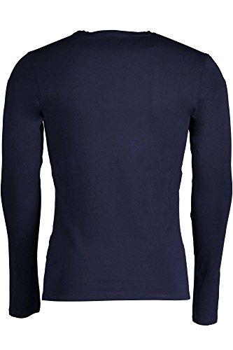 Guess M73I57J1300 Herren Langarm-Pullover blau G720