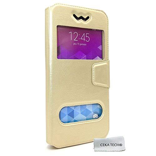 Funda Case QILIVE Smartphone Q4 5.5 - Color Dorado