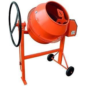 Bétonnière ecomix cuve 130 litres monophasé 700 watts
