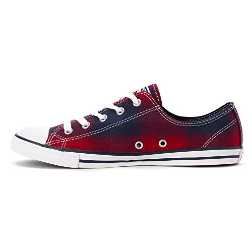 Converse Chuck Taylor Dainty Ox Sneakers 549611f 549611F-CHILI PASTE/RED/BLUE
