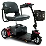 Pride Go Go Elite Traveller Plus 3 Wheel Transportable Mobility Scooter With 18AH Batteries