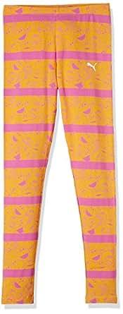Puma Girls' Trousers (83672315_Zinnia_5-6 Years)