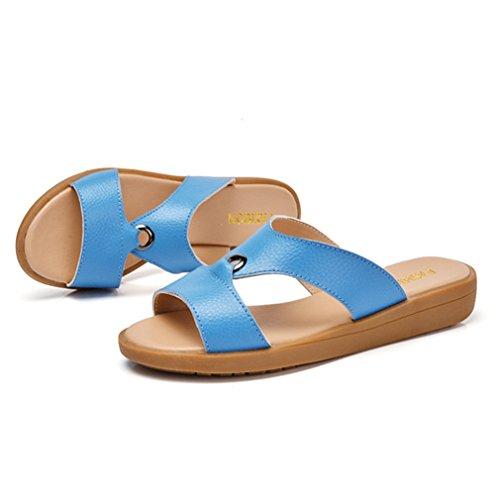 XTIAN - Pantofole Donna Blau