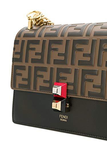 Fendi, Borsa a spalla uomo Marrone marrone Formato un formato di marca