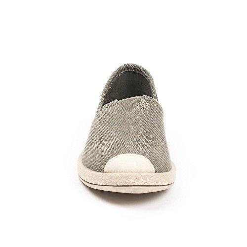 Ideal Shoes, Damen Slipper & Mokassins Taupe