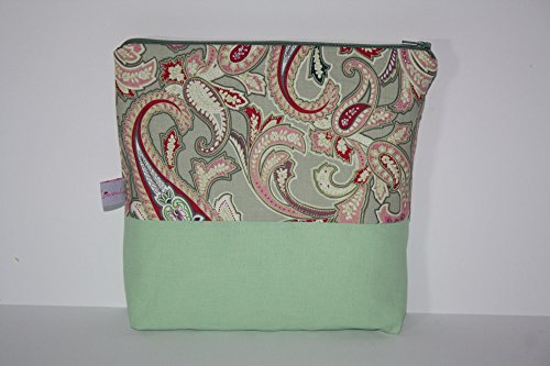 Lilli Cœur de Lion main Trousse Clutch paisleys Green