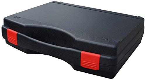 Schwarzer Koffer Tekno 340 x 275 x 83 VISO