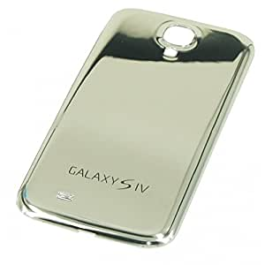 Coque Cache Batterie pour Samsung Galaxy S4 i9500 i9505 - Miroir Silver
