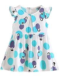 Vestido de Verano Lindo Bebé, Zolimx Fiesta de Princesa Niño Vestido de PingüIno de Dibujos Animados Vestido de Tutú