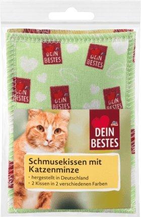 Dein Bestes Spielkissen für Katzen mit Katzenminze, 2 St