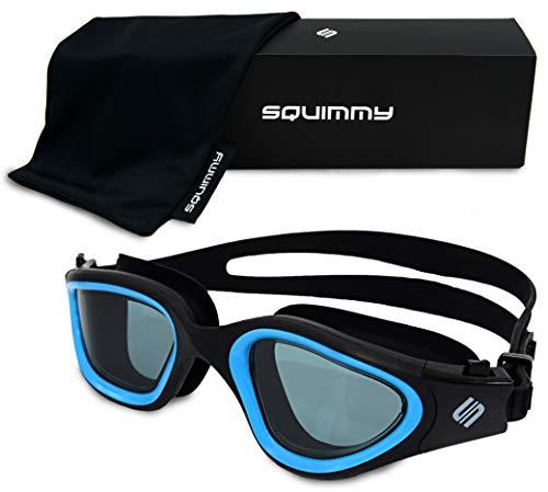 SQUIMMY Schwimmbrille (Blau, Dunkel Getönt)