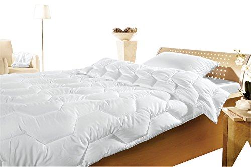 Brinkhaus-Silvercrown Leichtsteppbett Textilfaser weiß Größe 155x200 cm
