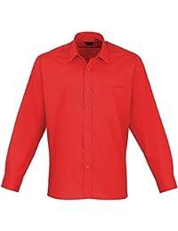 Premier Herren Popelin-Hemd / Arbeitshemd, langärmlig