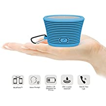 Altavoz Bluetooth port‡til BLUEXTEL con sonido estŽreo de alta calidad, potencia de sonido. Altavoz inal‡mbrico, f‡cil de transportar, peque–o y recubierto de material antigolpes.