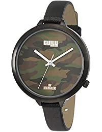 Gully by Timex Prints Analog Brown Dial Women's Watch-TW013HL17