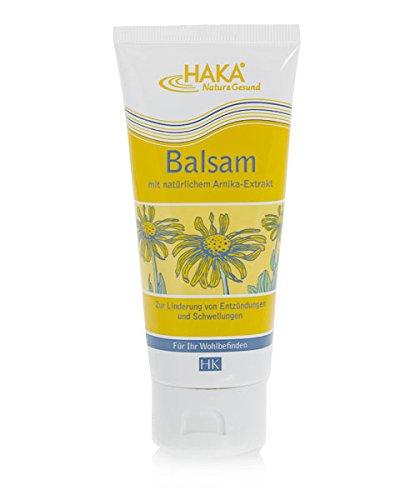 HAKA Balsam mit Arnika, 100ml. Arnika-Balsam Creme ist wohltuend für Muskeln und Gelenke.