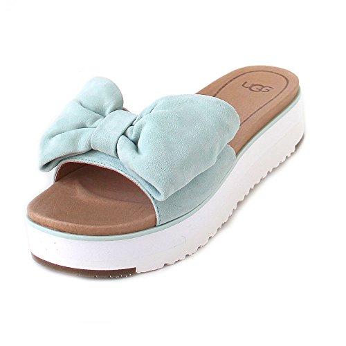 Ugg | Joan | Pantolette | Schleife - Blau | Aqua, Farbe:Blau;Größe:40