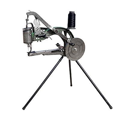 ECO-WORTHY Máquina de reparación manual de zapatos, Máquina de coser zapatos, Máquina de reparación de calzado de ECO-WORTHY