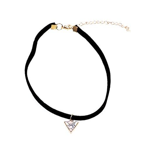 Victorian Samt (MagiDeal Schwarzem Samt Gothic Victorian Halsband Artifical Türkis Halskette)