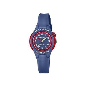 Calypso Reloj Análogo clásico para Unisex de Cuarzo con Correa en Plástico