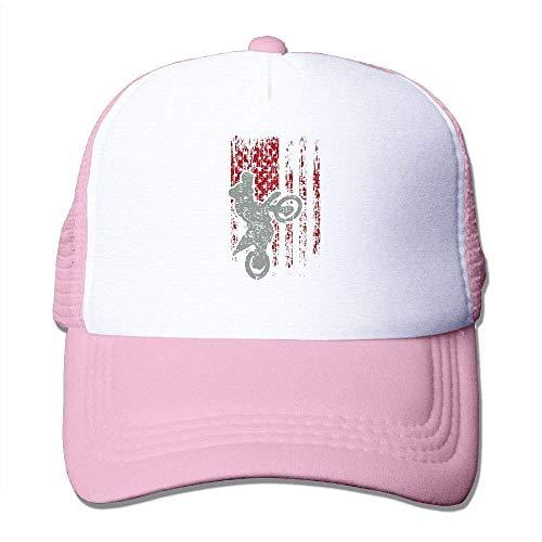 Voxpkrs Motocross USA Flagge Adjustbale Baseballmützen Sommer Sun Hat Tracker Cap U8I001728